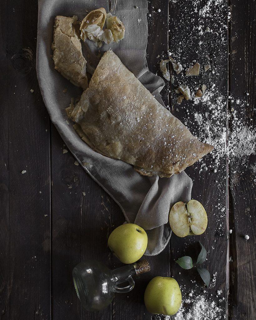 Fotografia tarta de manzana