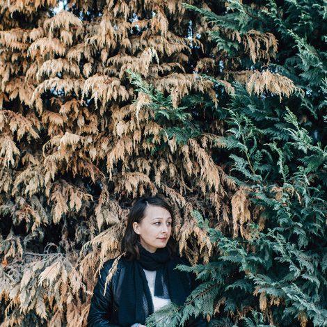 Retrato en el parque con Corina