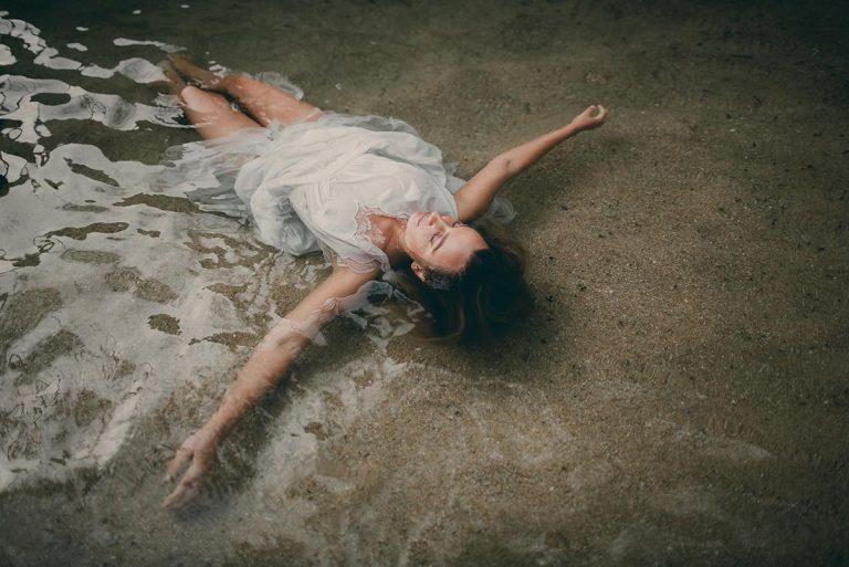 Sesion fotografia en el agua