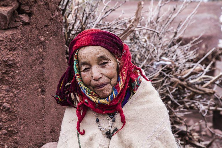 Anciana beréber, Marruecos