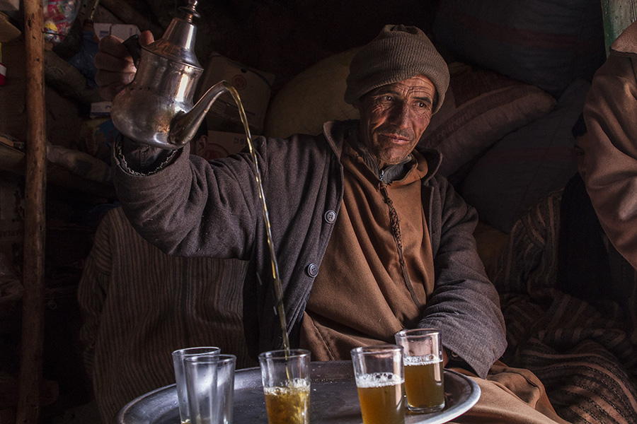 Ceremonia del té beréber