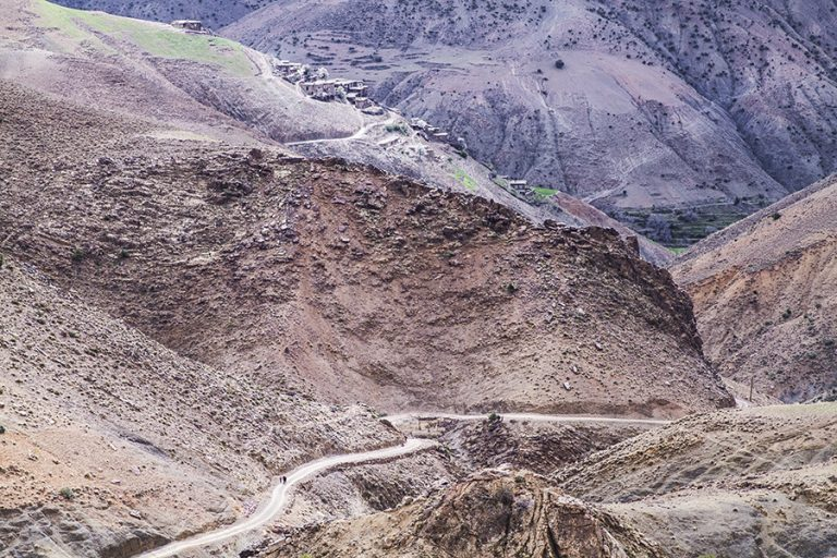 Pueblos perdidos en el Atlas