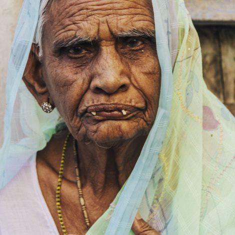 Mujer en Rajasthan