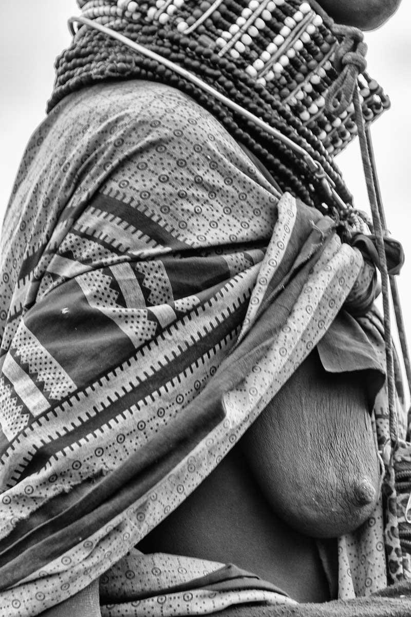 Mapa de un nómada Turkana