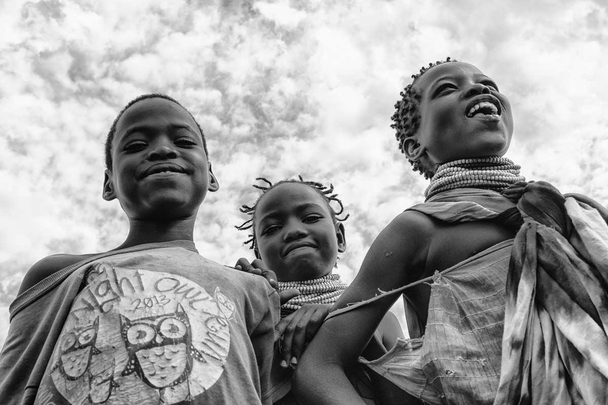 Niños en Kokuro