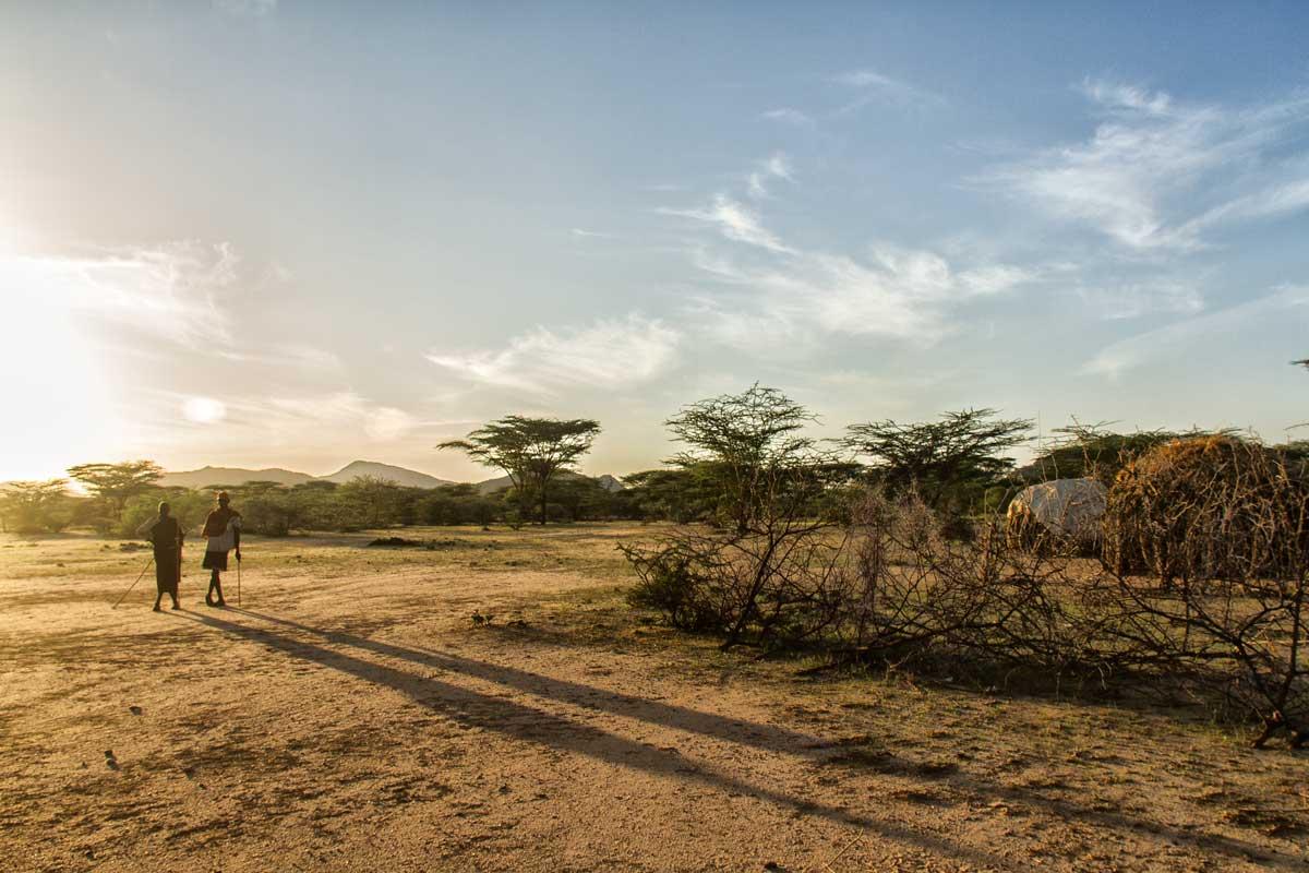 Amanecer en Turkana