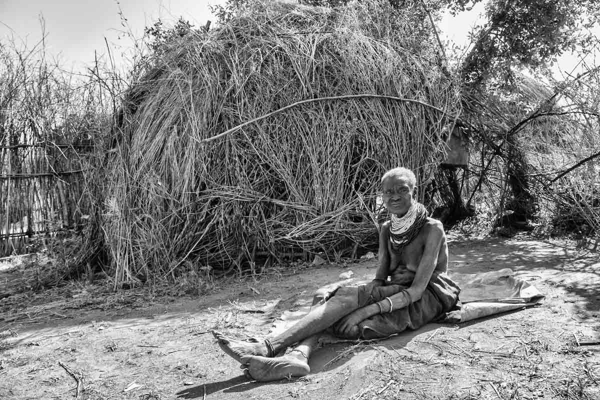 Anciana en Oropoi