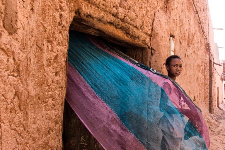 Vida en los pueblos de barro Marruecos