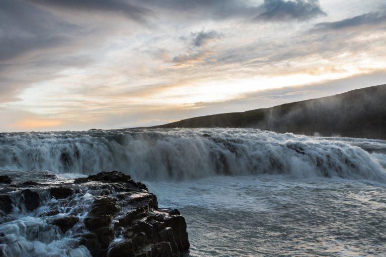 Cascada Gullfoss Islandia
