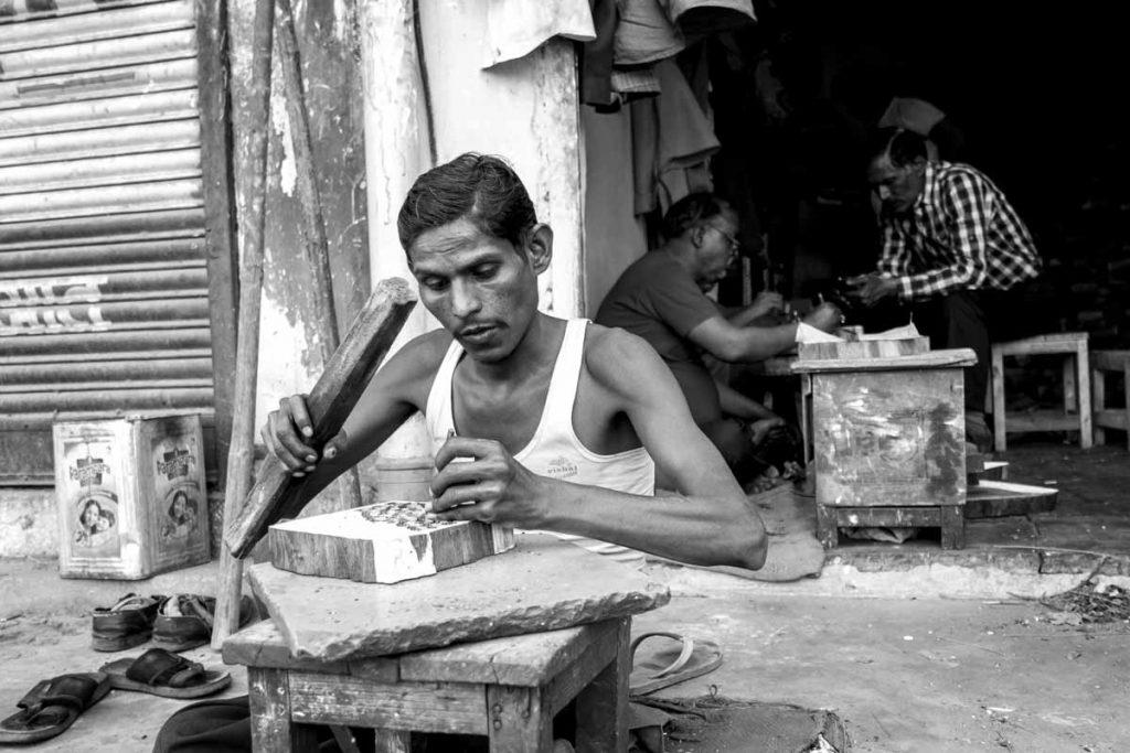 Mercado Jaipur artesanos