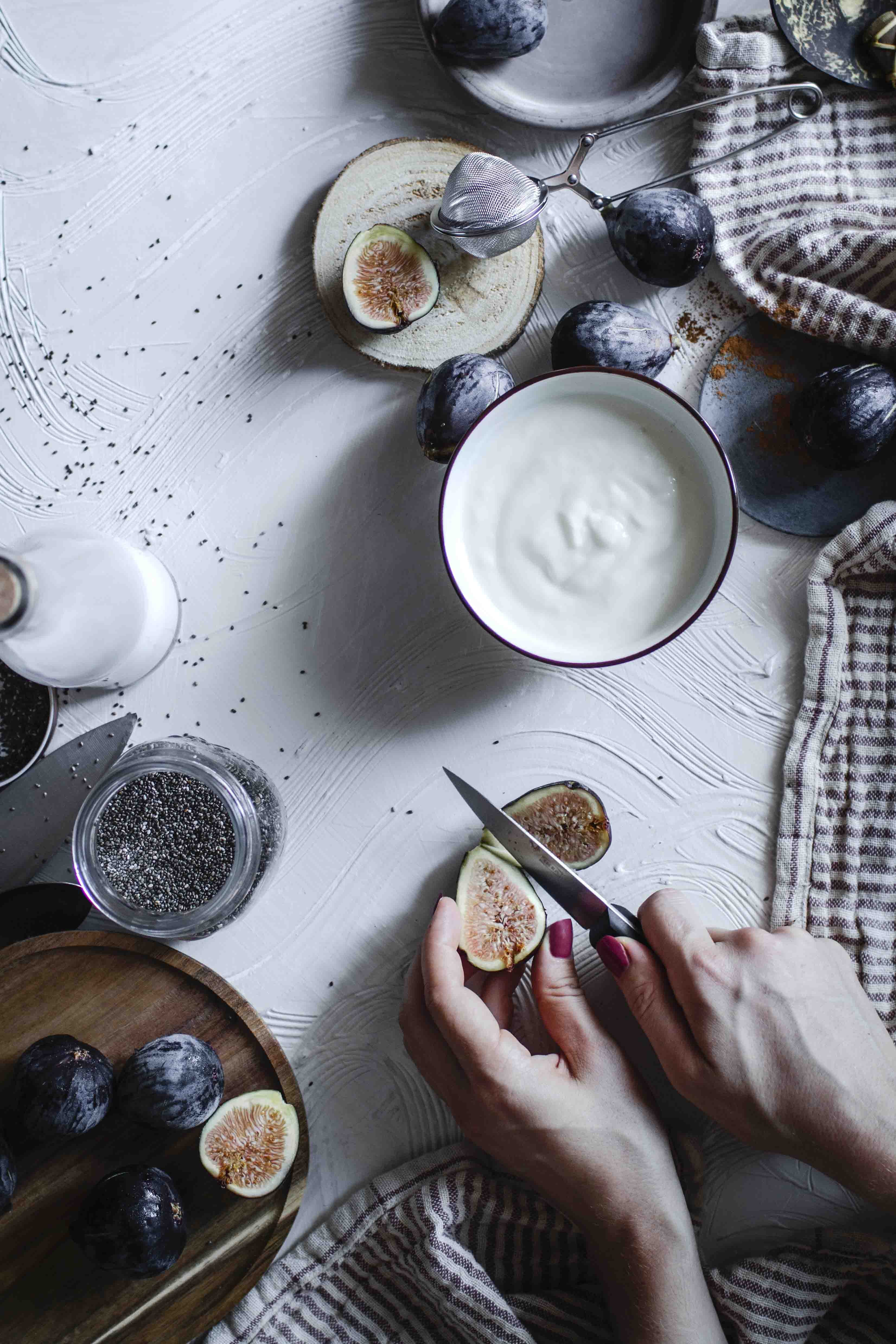 Pudding de chia y coco
