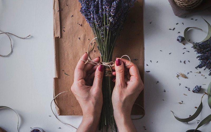 Ramo de Lavanda flores