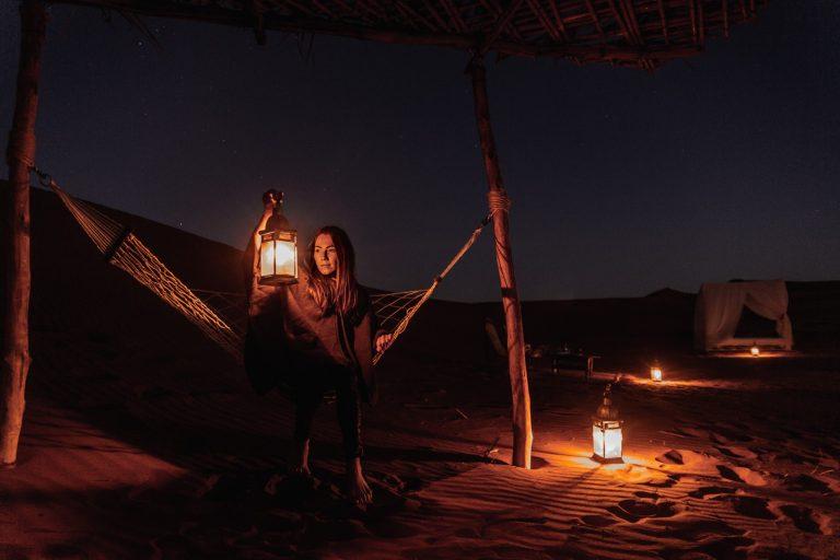 Luz en la oscuridad Sahara