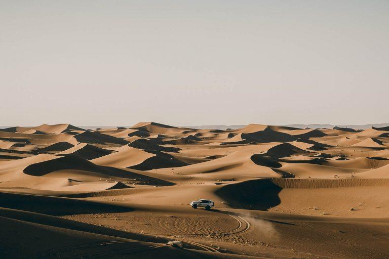 Sahara Erg Chegaga dunas