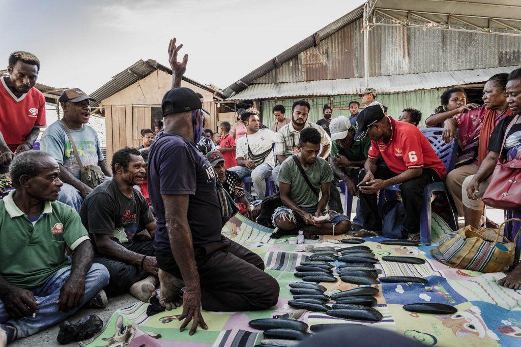 Precio de la novia Papua jade negro