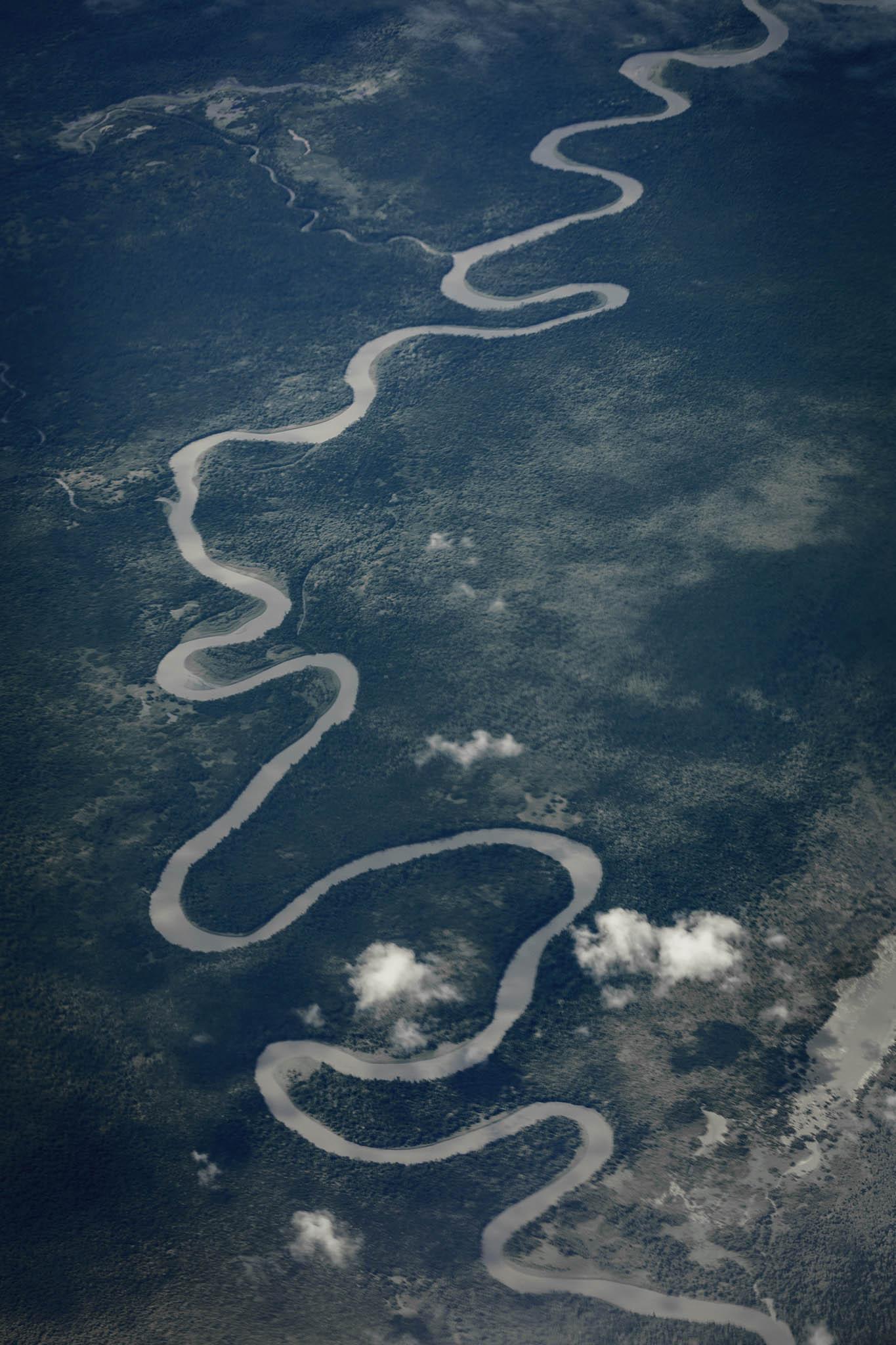 Rio Mamberamo en Papúa