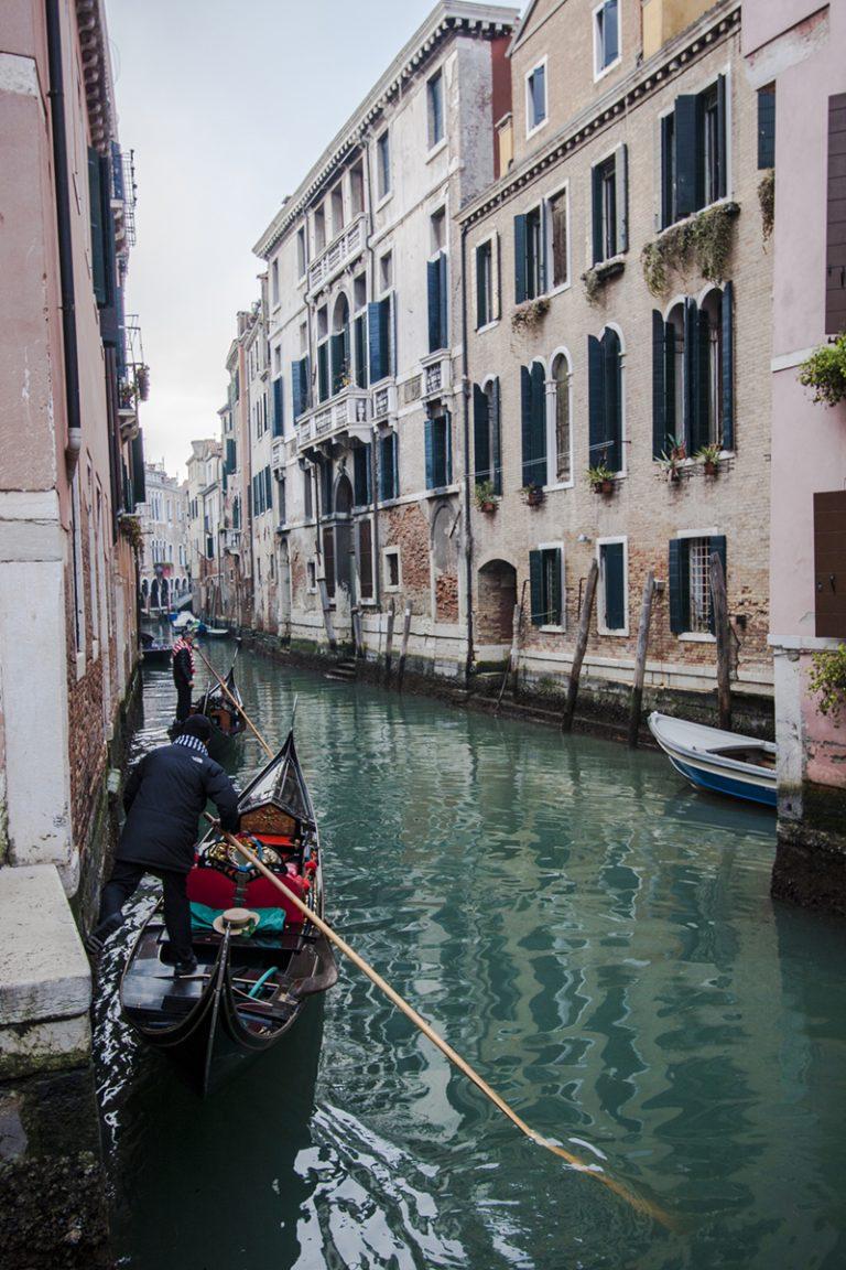 Visitando Venecia
