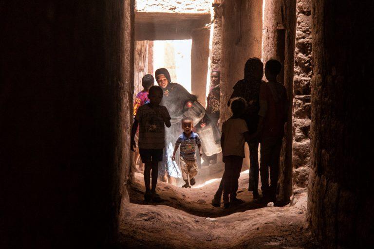 Pueblo bereber en Marruecos