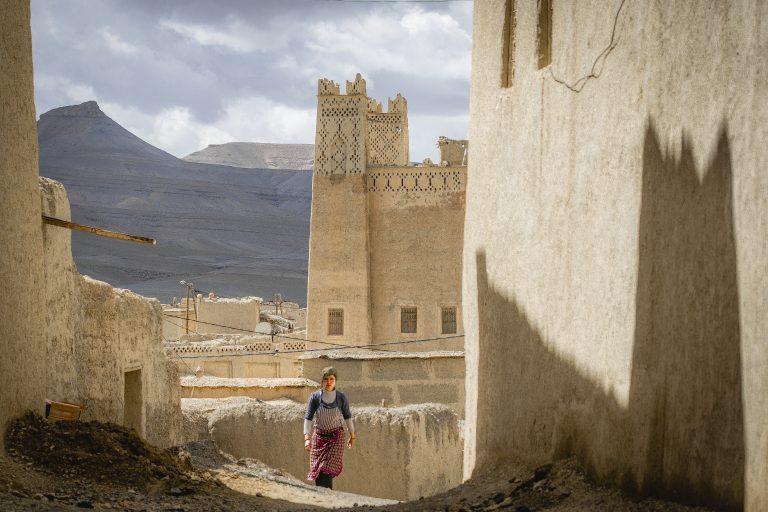 Mujer bereber Imilchil