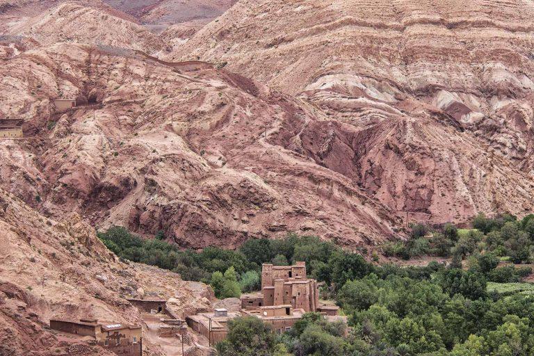 Kasbah en regoin Atlas Ouarzazate