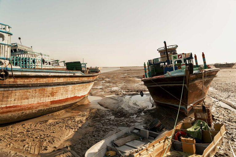 Lenje, barco irani