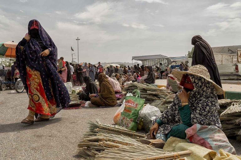Mercado de Minab Iran