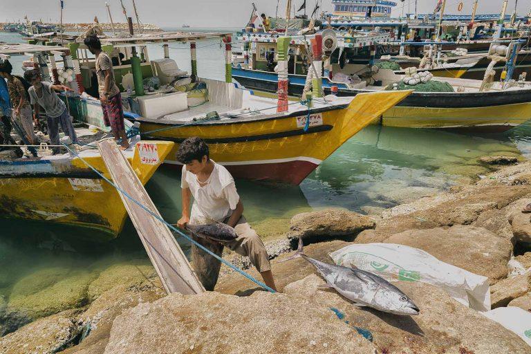 Puerto de Kuh Mobarak Iran