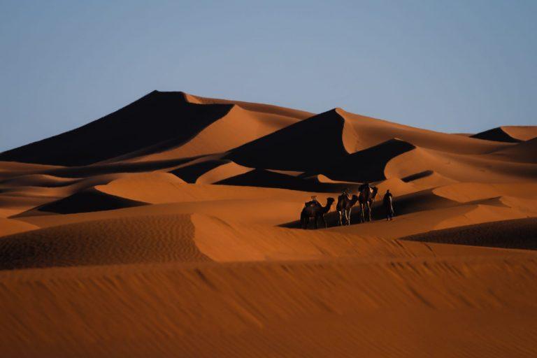 Desierto del Sahara Marruecos